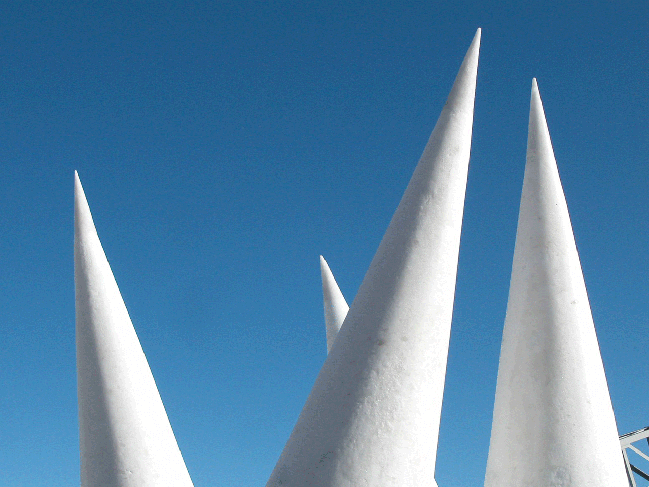 Schneeskulptur ROCK'N' ROLL 2007